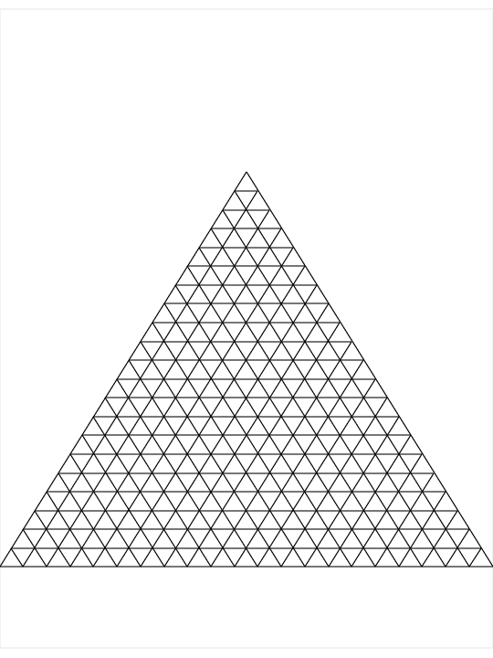 how to read a triangular graph