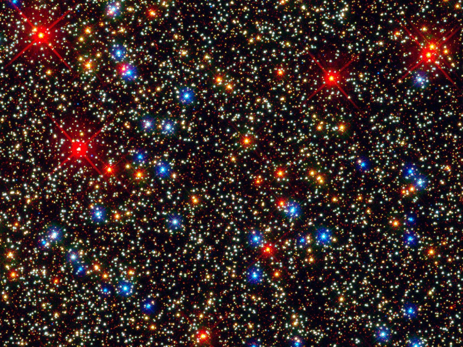 Цвета звезд планет 9
